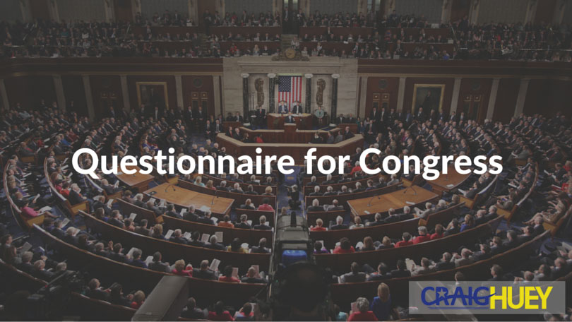 Questionnaire for Congress Candidate Endorsement Questionnaire for Congress