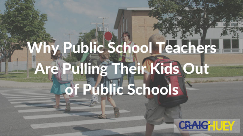 Why Public School Teachers Are Pulling Their Kids Out of Public Schools