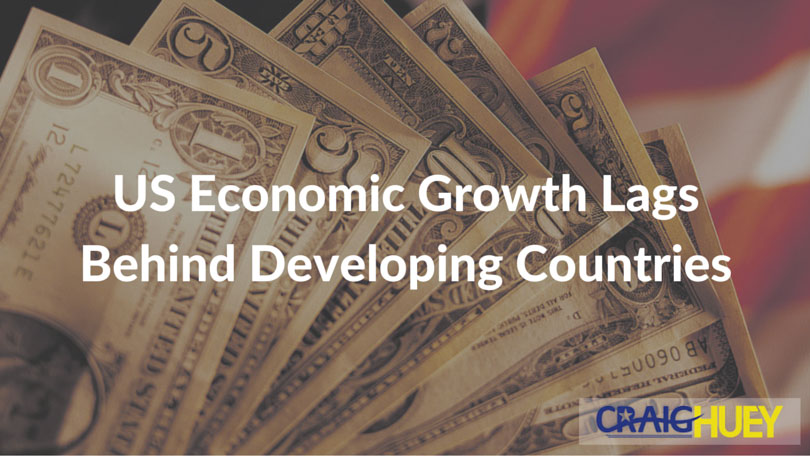 US Economic Growth Lags Behind Developing Countries