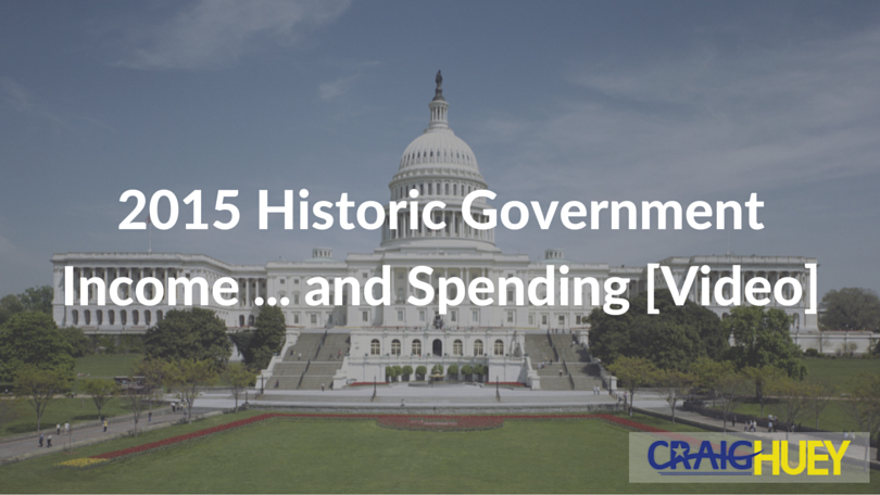 2015 Historic Government Income ... and Spending [Video]