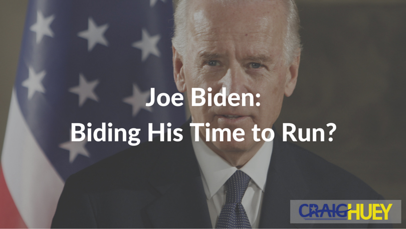 Joe Biden: Biding His Time to Run?