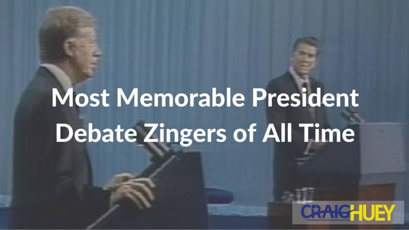 Most Memorable President Debate Zingers of All Time