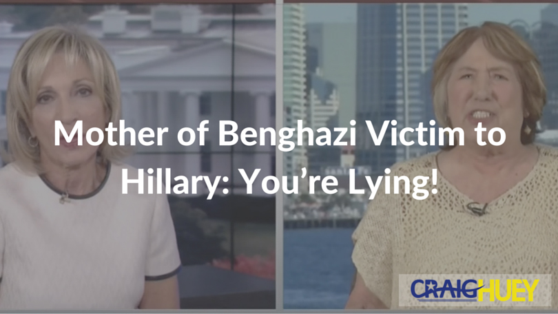 Mother of Benghazi Victim to Hillary: You're Lying!