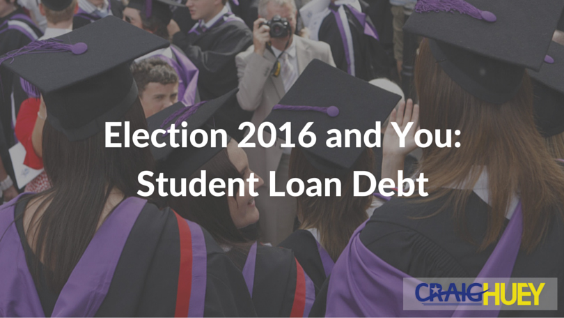 Election 2016 and You: Student Loan Debt