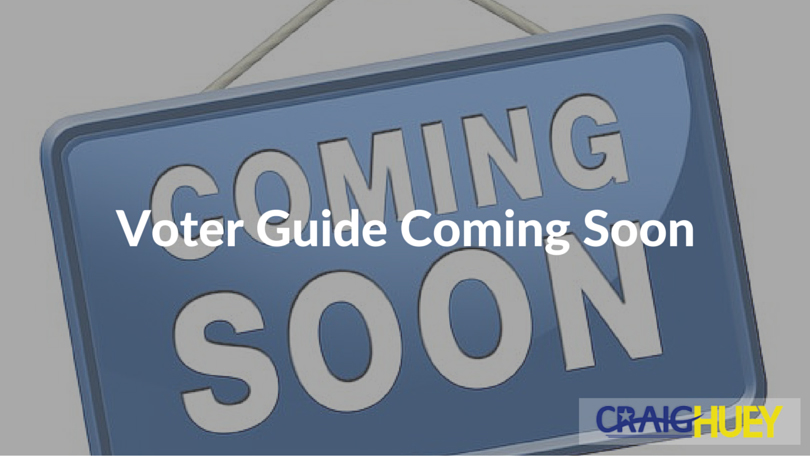 Voter Guide Coming Soon