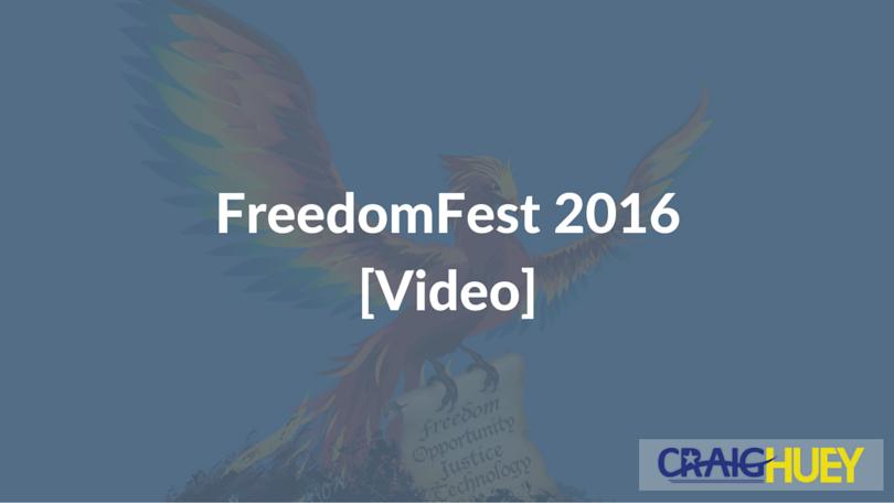 FreedomFest 2016 [Video]