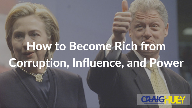 How to Become Rich from Corruption, Influence, and Power