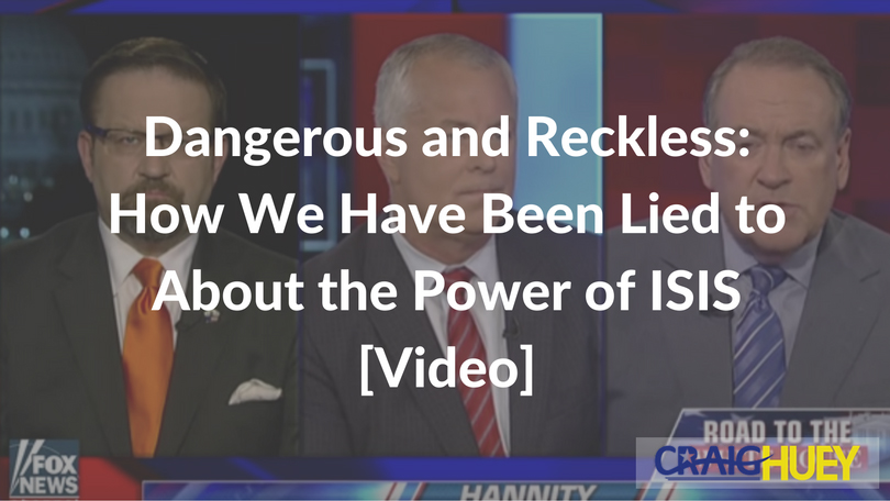 Dangerous and Reckless: How We Have Been Lied to About the Power of ISIS [Video]