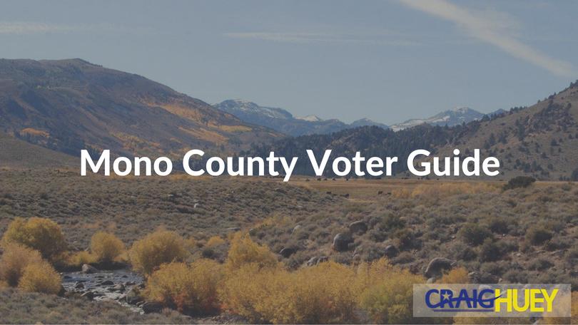 Mono County Voter Guide