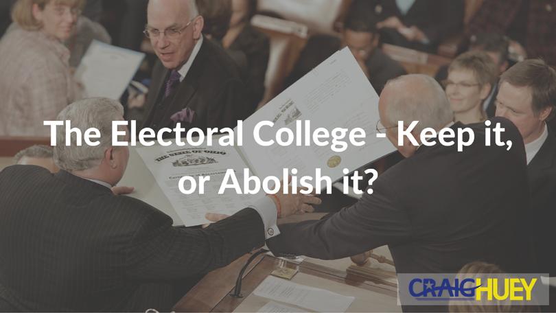 Electoral college essay prompt