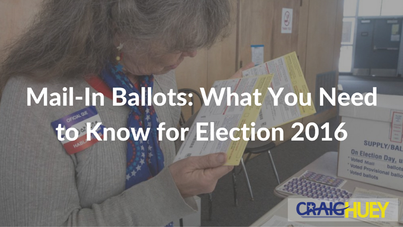 Mail-In Ballots: What You Need to Know for Election 2016