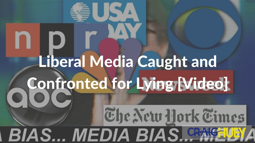 Liberal Media Caught and Confronted for Lying [Video]