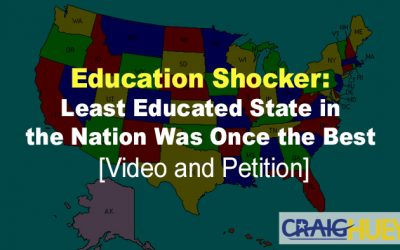 Education Shocker: Least Educated State in the Nation Was Once the Best [Video and Petition]